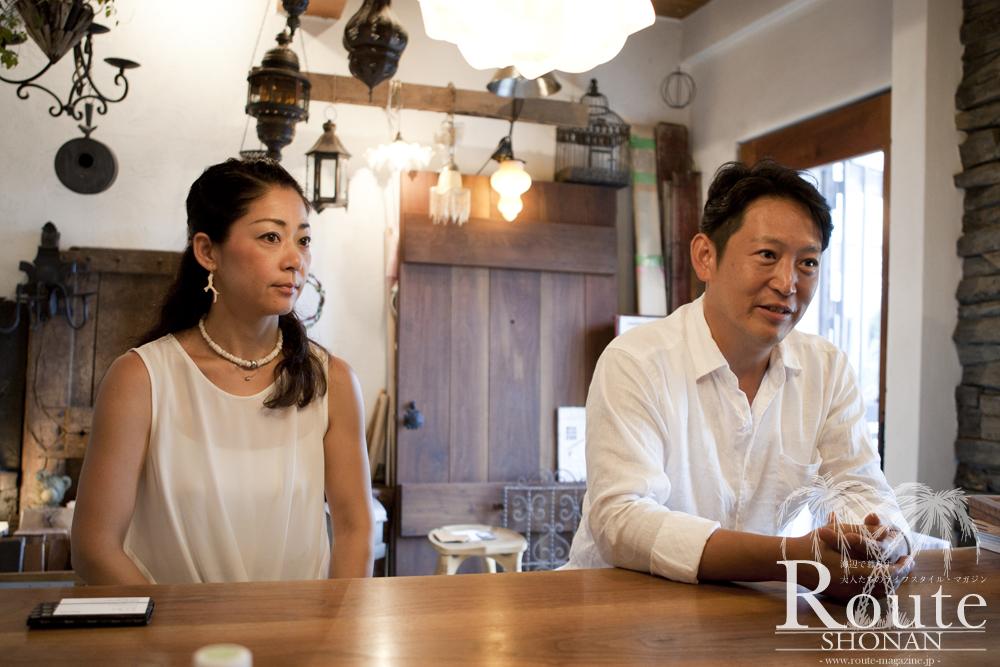 湘南でこだわりの注文住宅を手掛ける、TEPEE HEARTの西尾 美樹 氏と半田 菜穂子氏。